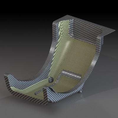 Formula style Formula SAE Seat