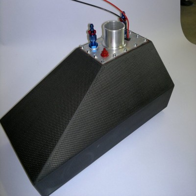 Carbon Fiber Fuel Tank with Internal Fuel Pump