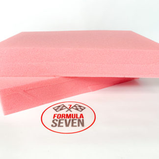 PINK Headrest foam 50mm FIA Technical List No. 17 Type B